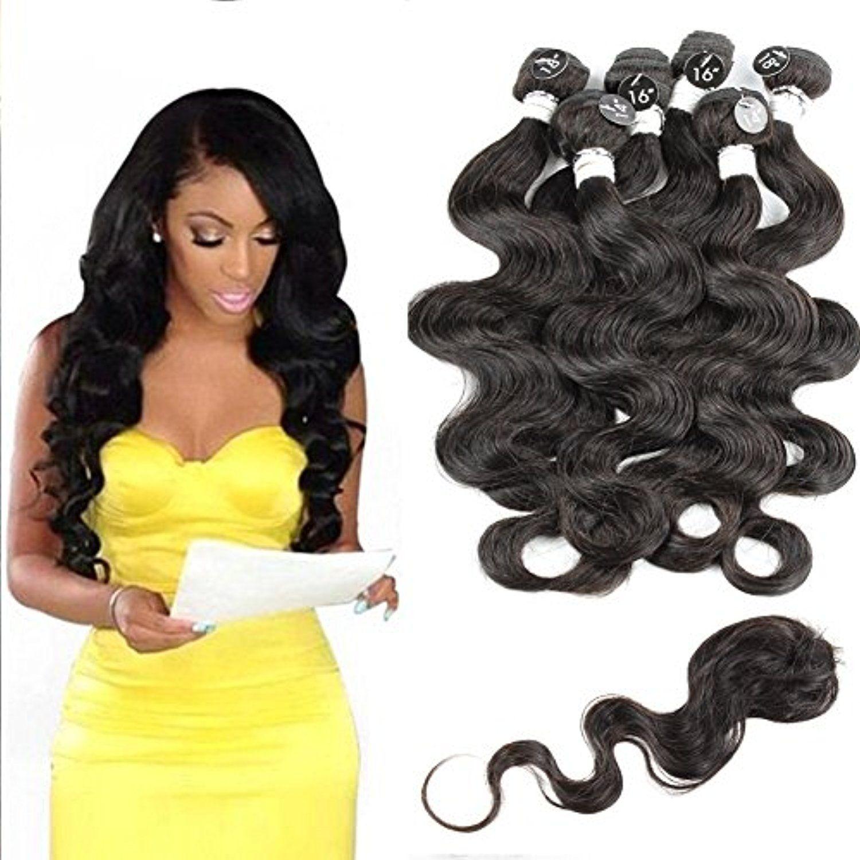 Wendy Queen Peruvian Virgin Hair Body Wave Remy Human Hair 6 Bundles