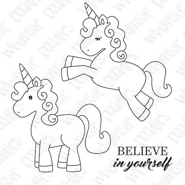 unicorn digi horse pony  malvorlage einhorn