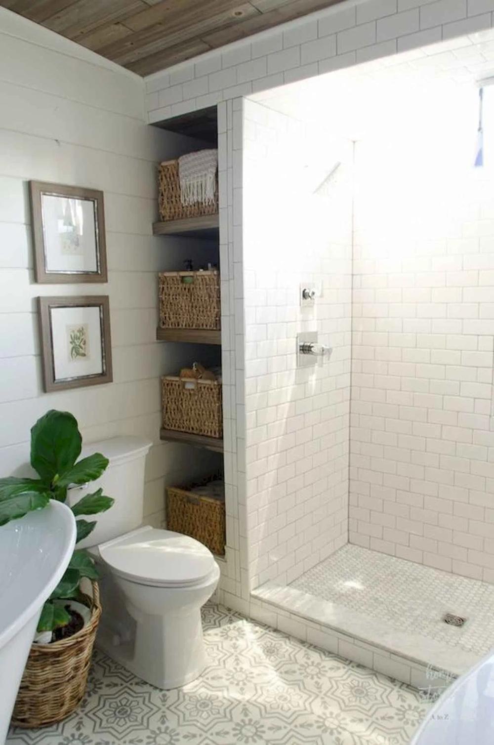 55 Fresh Small Master Bathroom Remodel Ideas And Design 36 Livingmarch Com Master Bathroom Makeover Small Bathroom Remodel Bathrooms Remodel
