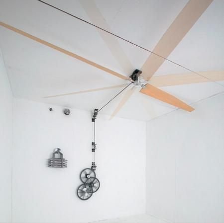 Non Electric Ceiling Fans Belt Driven Perpetual Motion Urban Forum At Permies Ceiling Fan Belt Driven Ceiling Fans Ceiling
