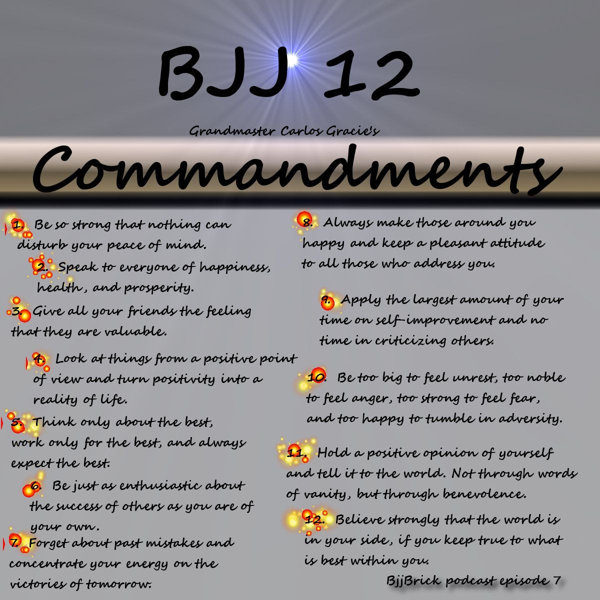 Jiu Jitsu Quotes 12 Commands Of Bjj  Bjj 4 Life  Pinterest  Brazilian Jiu Jitsu