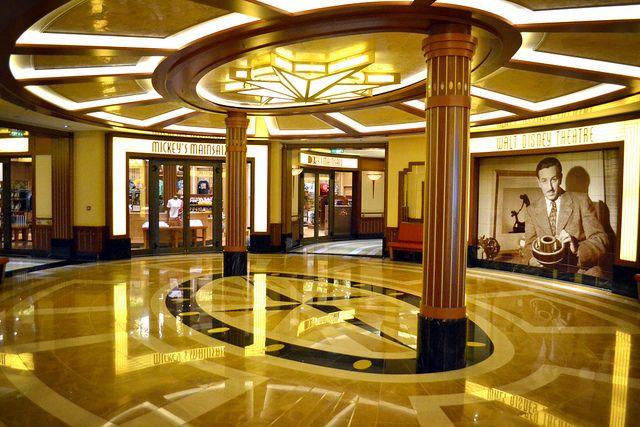 Disney Fantasy Walt Disney Theater Entrance In 2020
