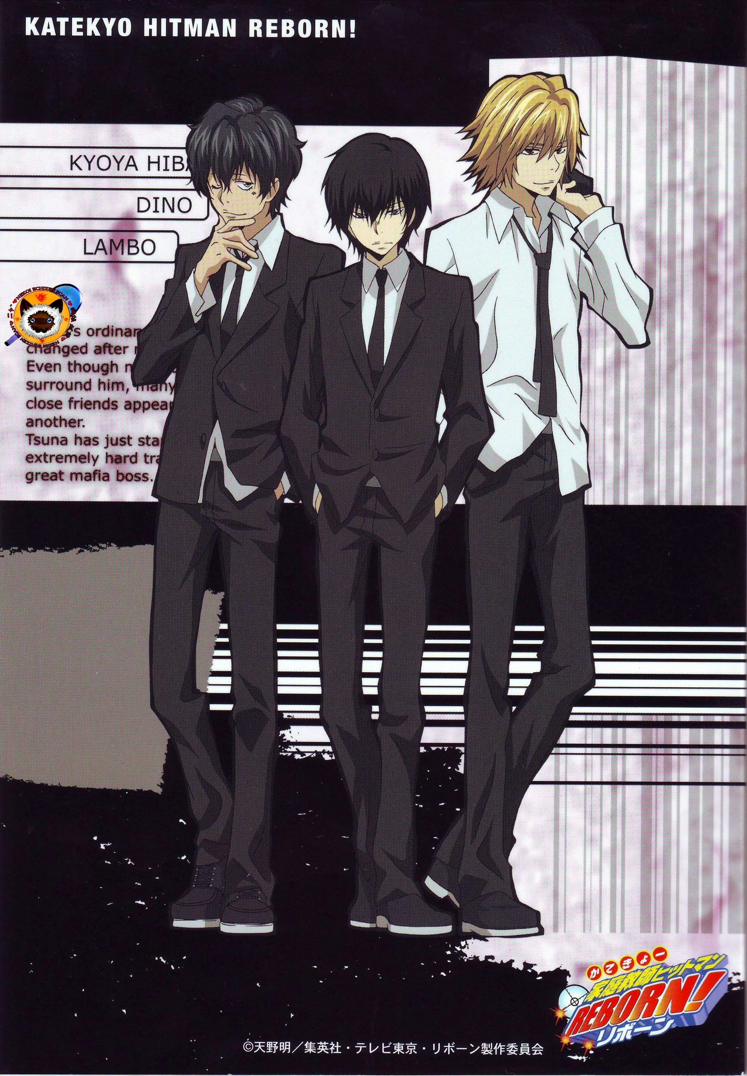 Kyoya Hibari Character Katekyo Hitman Reborn Series Kyoya