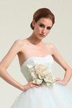 Wedding dress inspiration - ideas for wedding dresses UK, wedding gowns (BridesMagazine.co.uk)  Just remove the flowers, though!