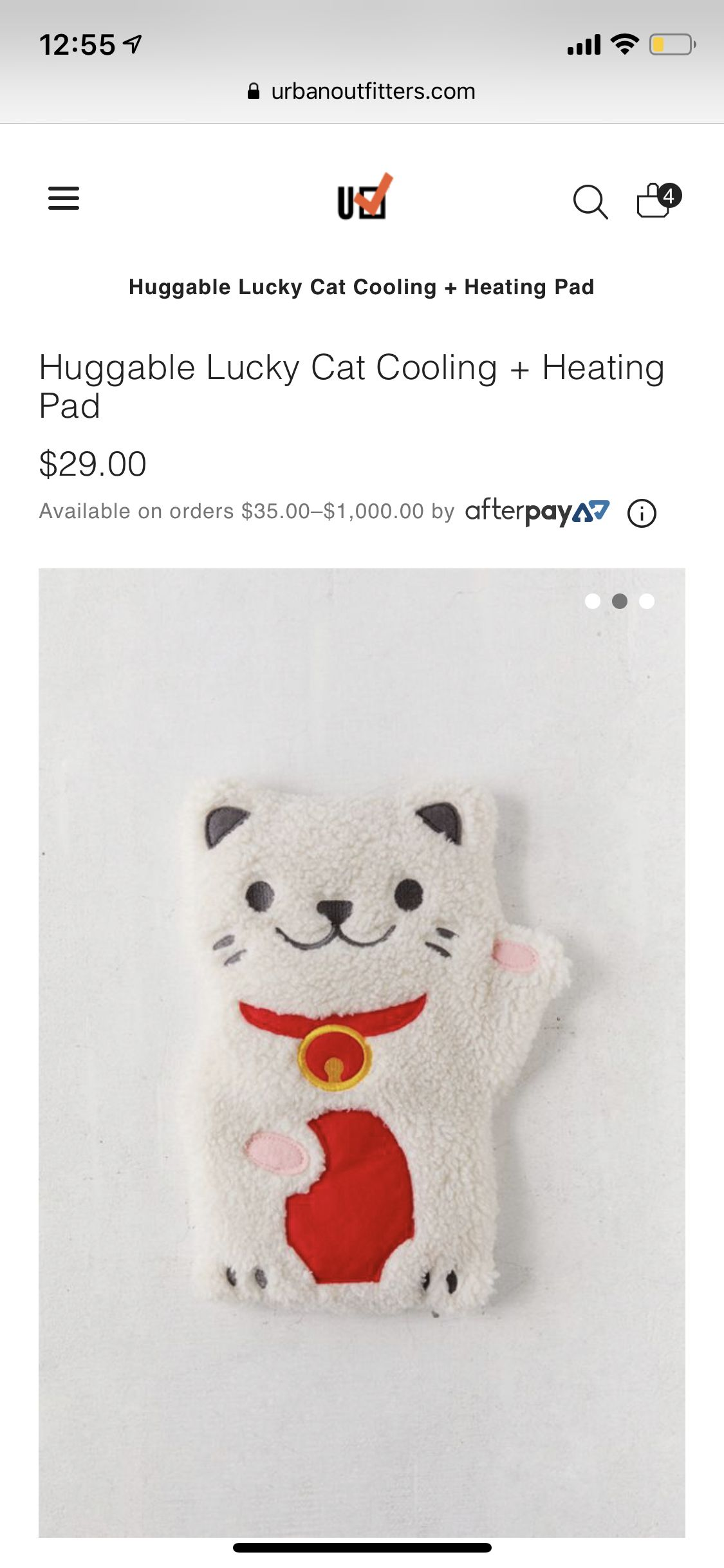 Pin By Mandy Krueger On Wish List Lucky Cat Huggable Heating