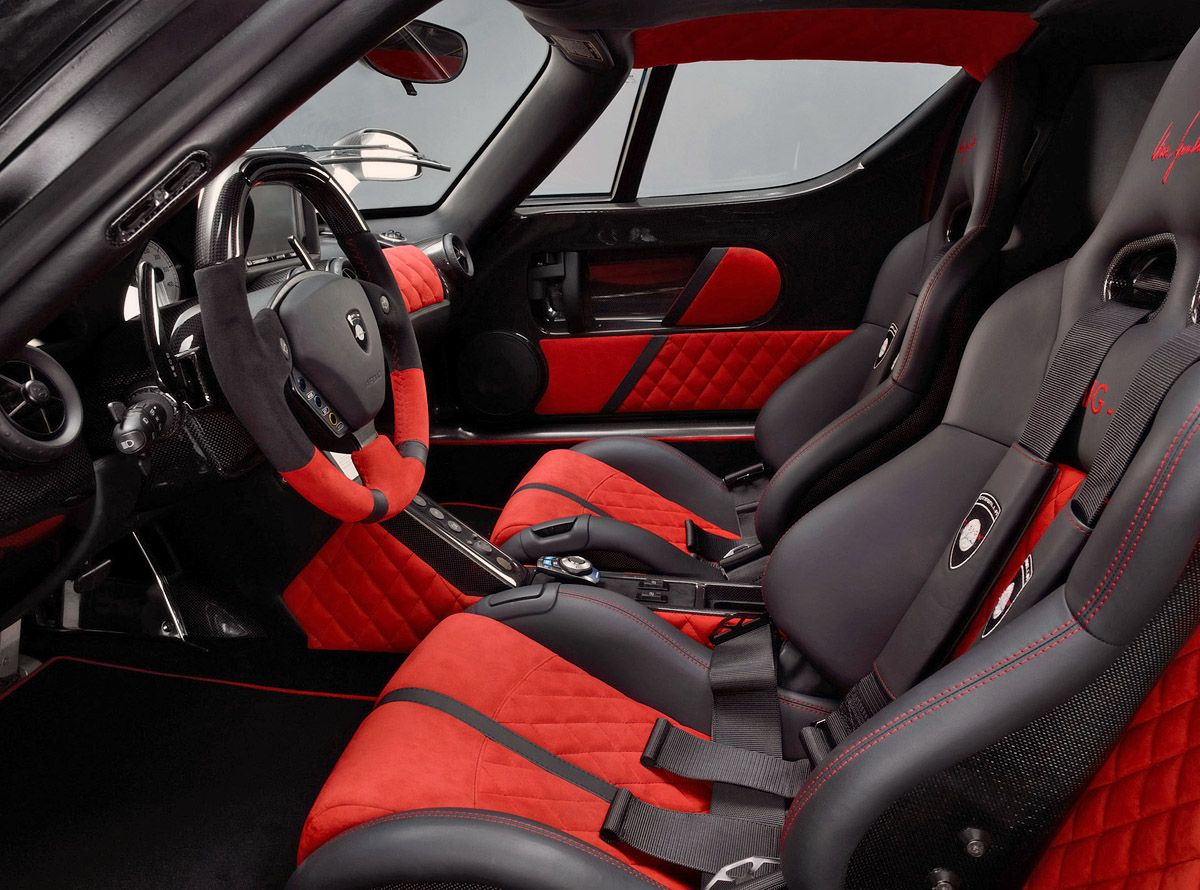 Car interior piping - Sports Cars