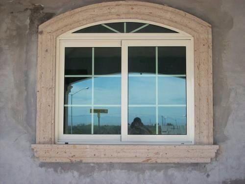 Hermozas molduras de cantera natural todos los colores for Marcos de ventanas de aluminio