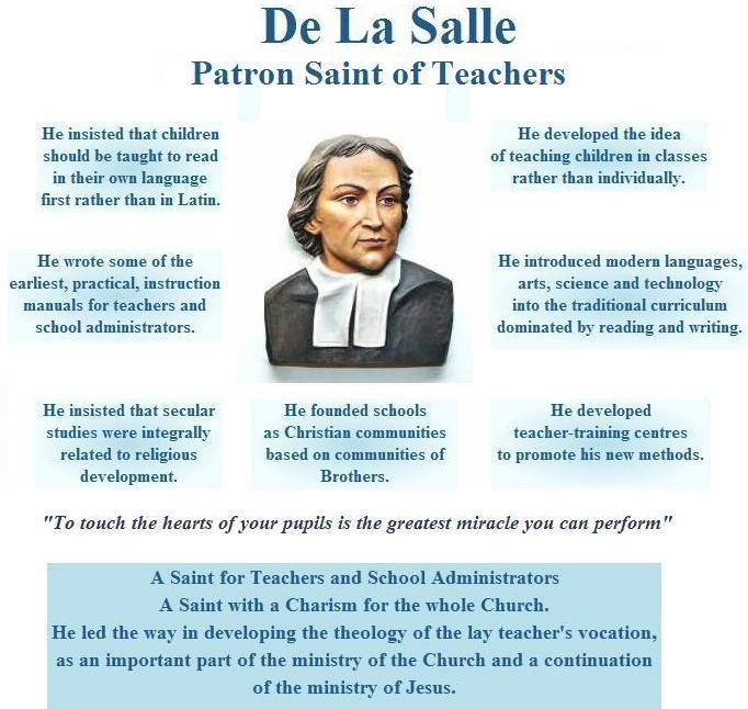 St John Bosco Quotes Education: John Baptist De La Salle And The Development Of Public
