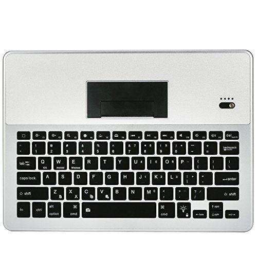 Sweet Portable Keyboard Case Xboun Aluminum Rechargeable Compact Wireless Bluetooth For IOS OSX