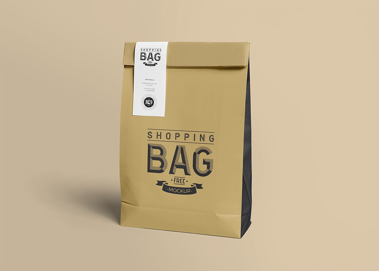 Download Food Delivery Paper Bag Free Mockup To Showcase Your Branding Packaging Design In A Photorealis Food Delivery Food Delivery Packaging Branding Design Packaging