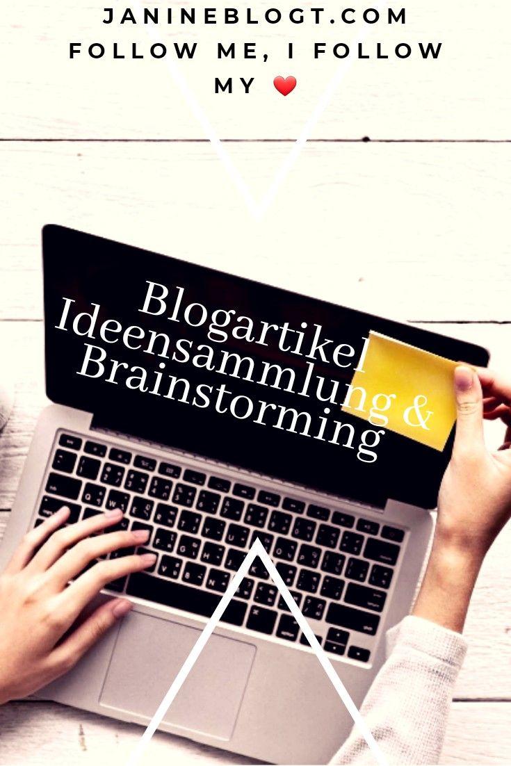 Blogartikel Ideensammlung & Brainstorming Mit diesem