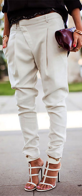 Photo of Big Sale!Harlan Fashion Casual Overall Bottoms Skinny Stylish Pants