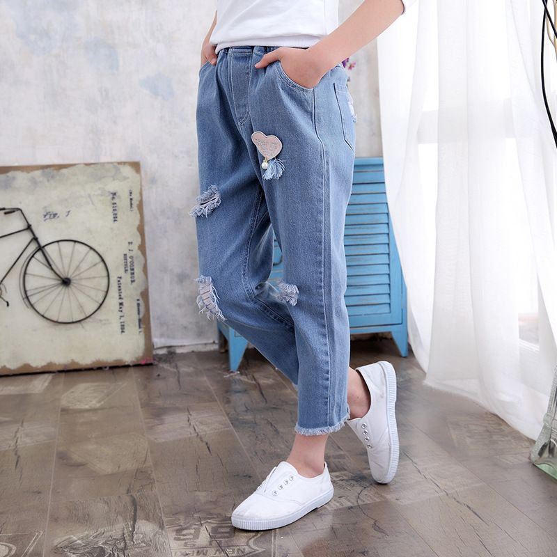 66572757e Kindstraum 2018 New Children Loose Jeans Brand Kids Solid Denim ...