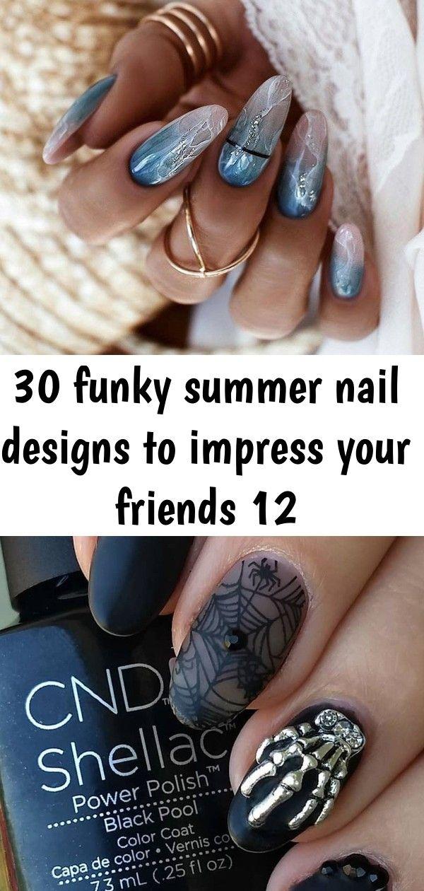 30 funky zomerse nagelontwerpen om indruk te maken op je vrienden 12