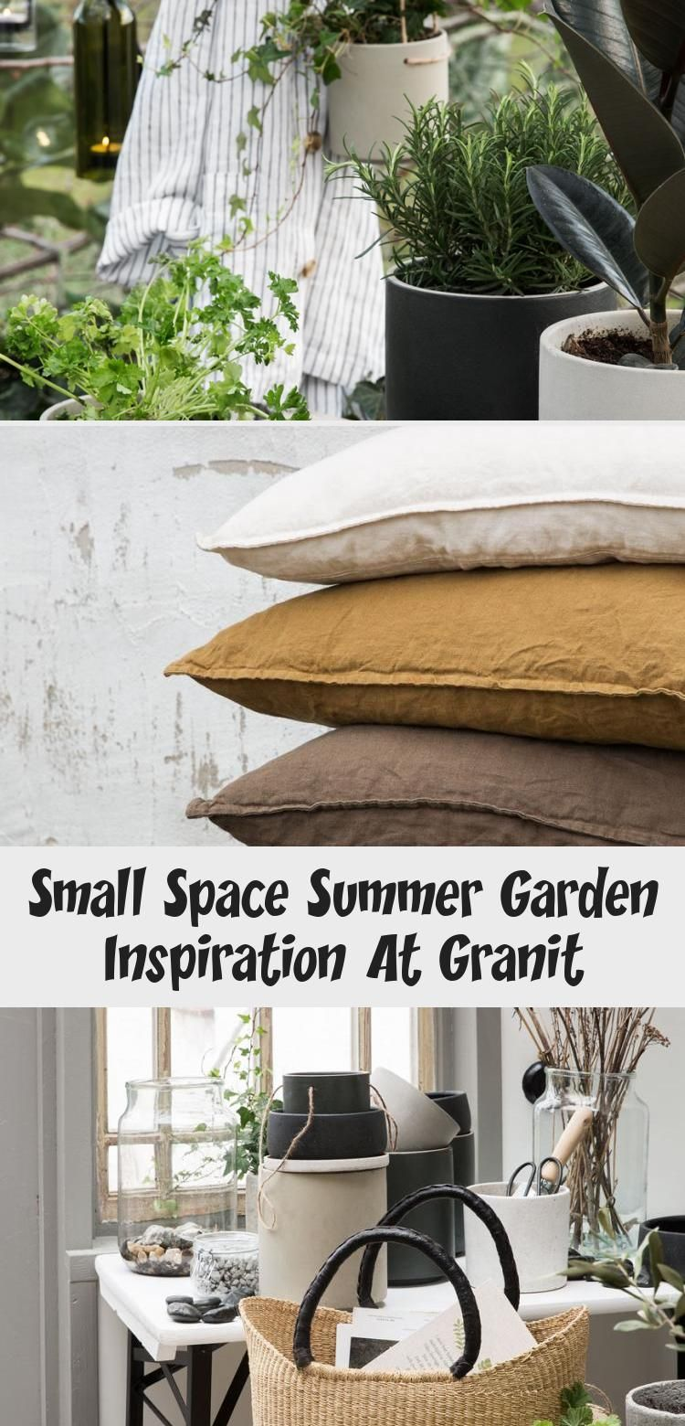 Small Space Summer Garden Inspiration At Granit – Home Design Balcony