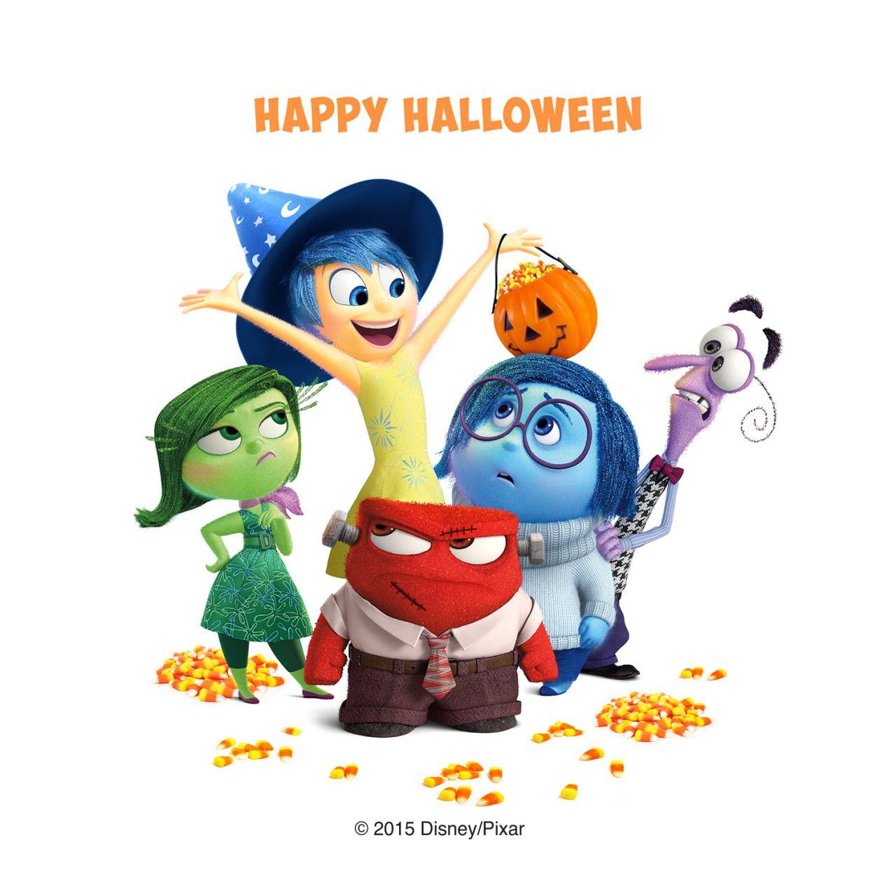Happy Halloween! Disney pixar, Walt disney animation