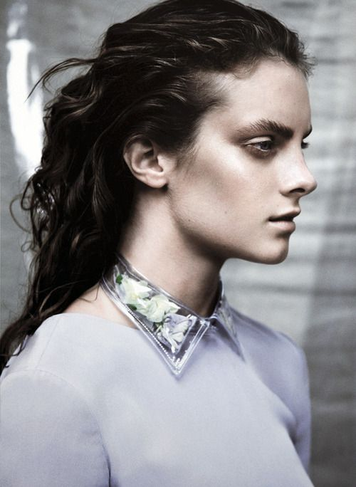 """deprincessed: Jade at Models 1 in 'My Head Is Wild With Weeping"""" by Sarah Piantadosi for USED magazine"""