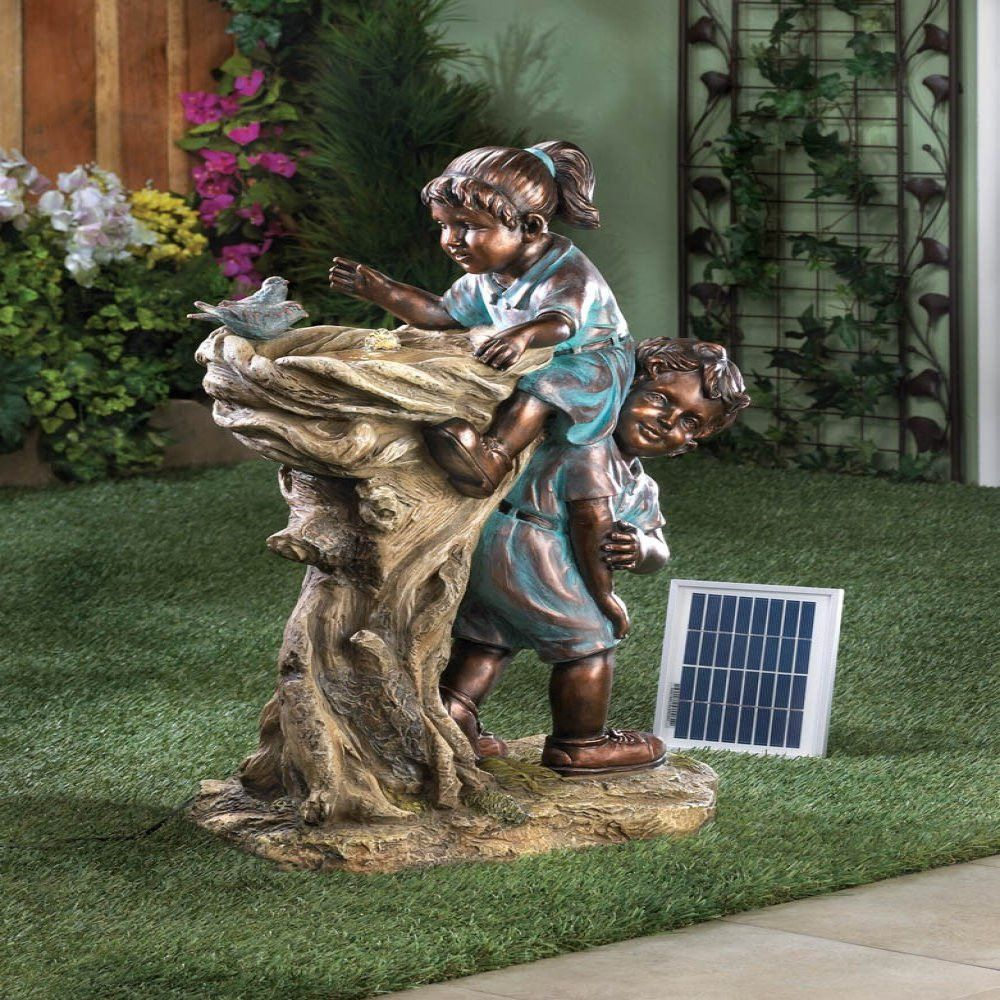 Solar Water Fountain Ideas For Your Garden Garden Fountains