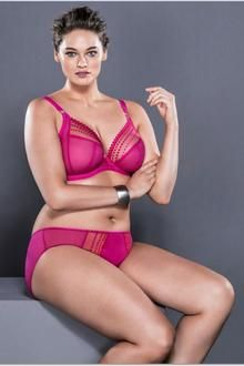 15eb88ac3c255 Elomi Matilda Uw Plunge Bra 8900 Coming in June in Fashion Color Passion  Comes in Core Color Black now. Pre-Order now for Delivery in June.