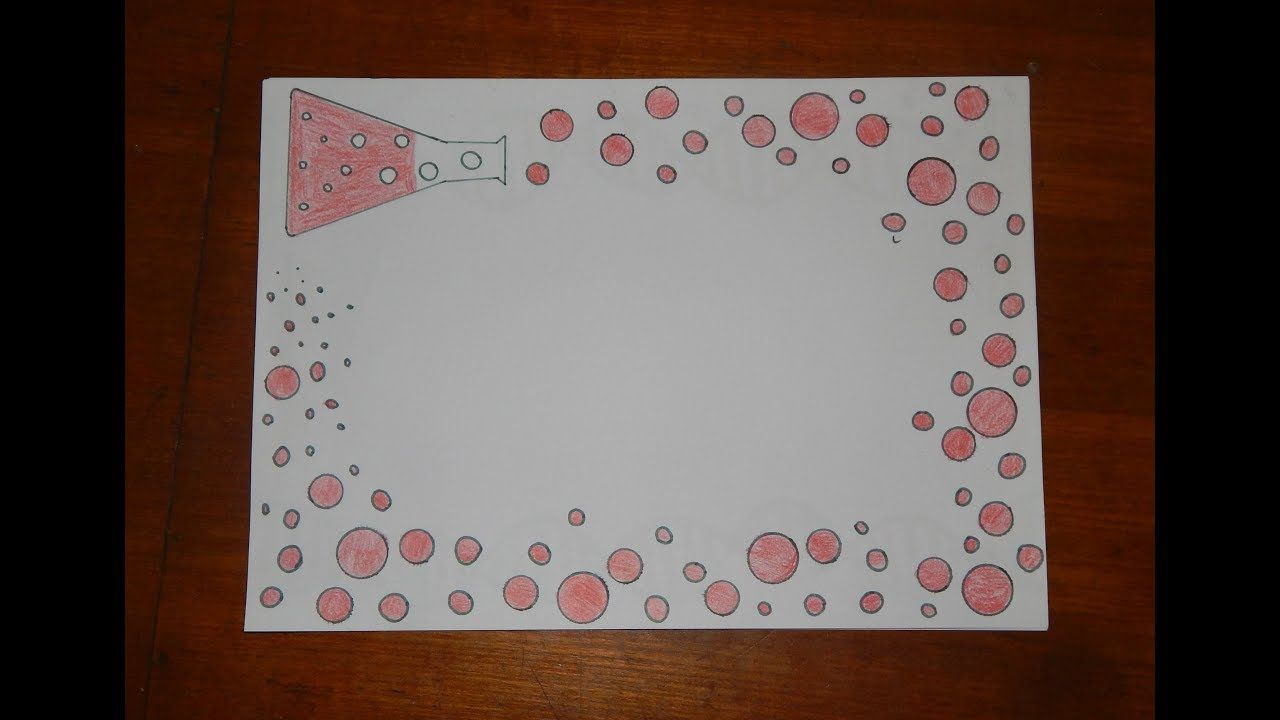 Image result for design of chemistry project | Border paper