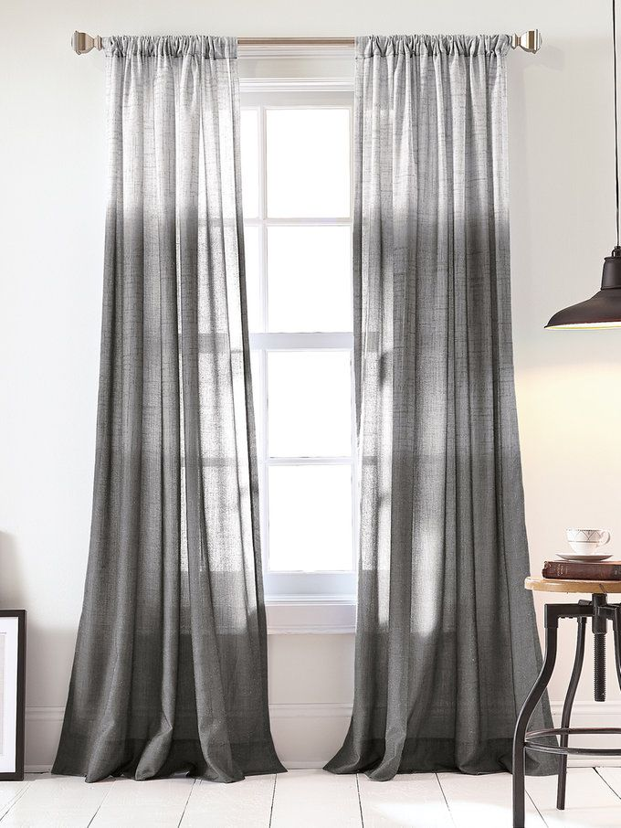 ombre curtain panel by dkny bedding at