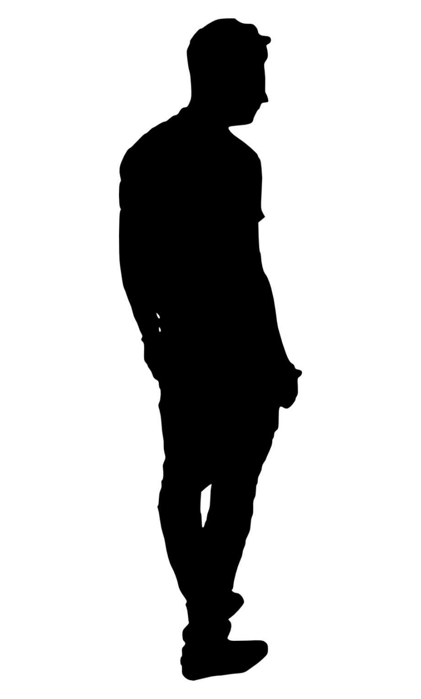 Man Walking Street Silhouette Person Silhouette Silhouette Silhouette Man