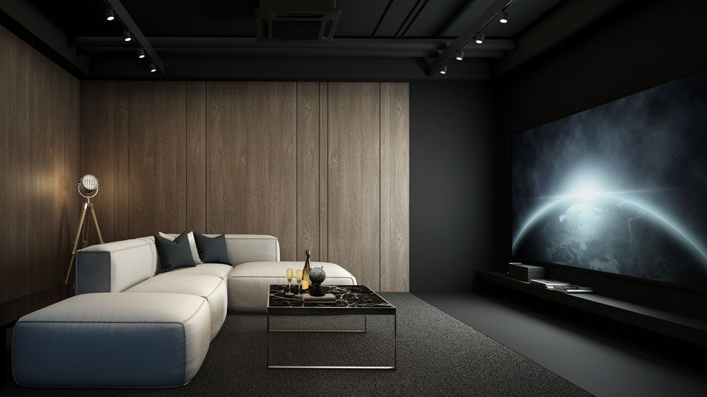 Beautiful Modern Home Theater Pictures