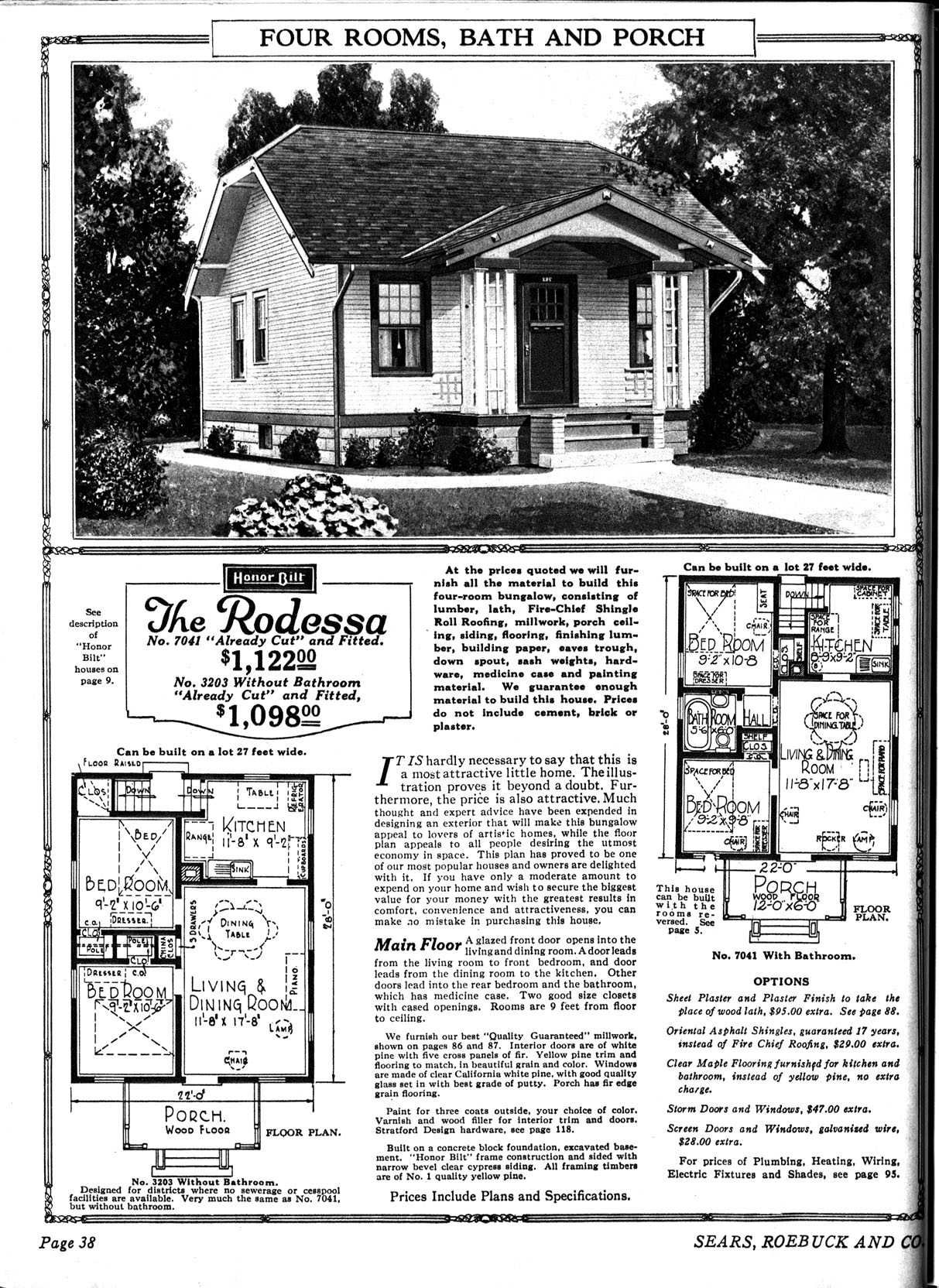 Sears should start selling house kits again. I would TOTALLY order a mail  order house that was less than a year's wage.