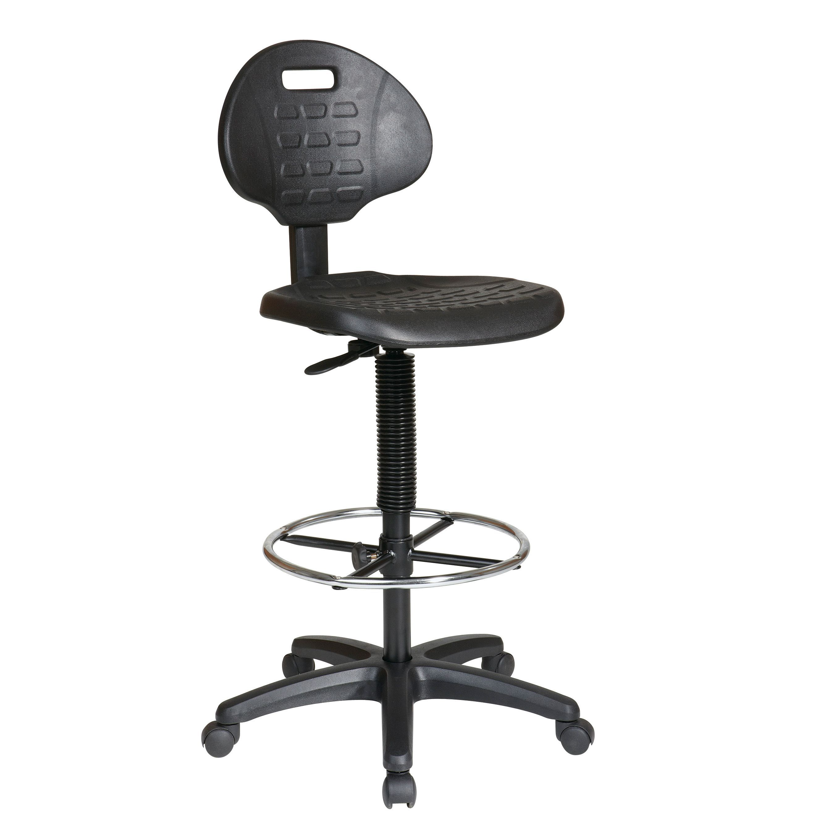 Office Star Products Work Smart Urethane Armless Standard Drafting