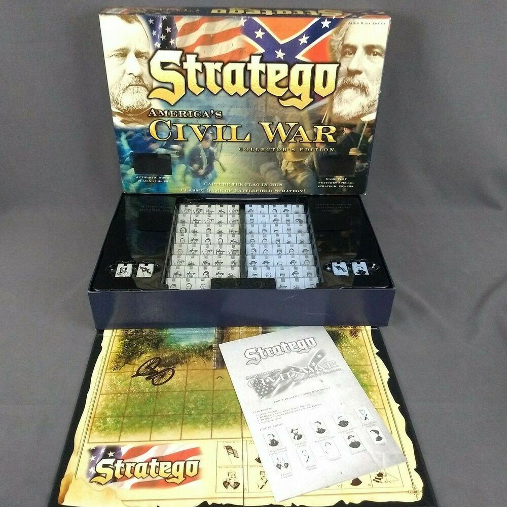 STRATEGO Americas Civil War Edition Board Game Collectors