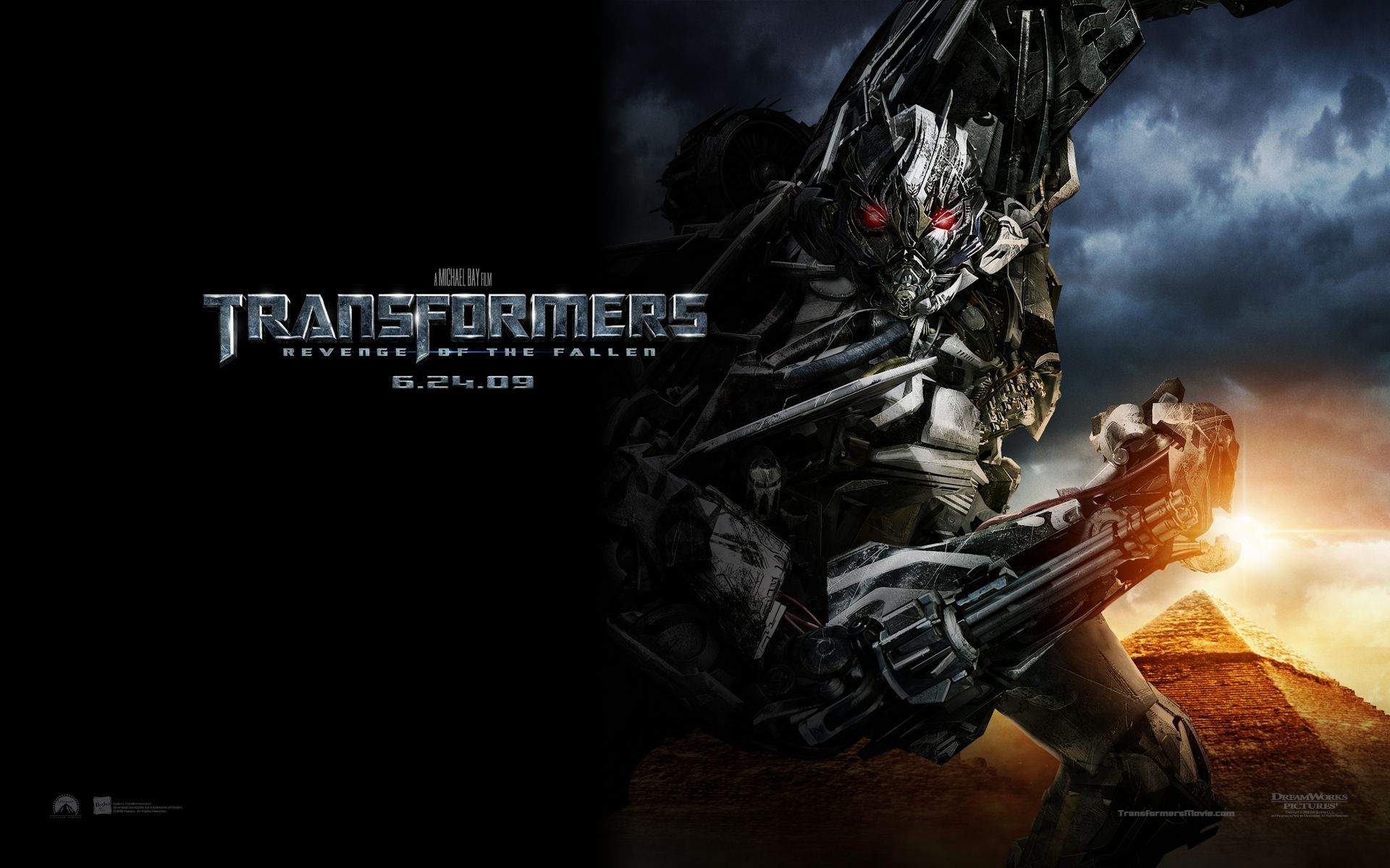 Hd Wallpapers Widescreen 1080p 3d Transformers 2
