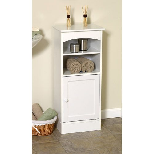 Walmart Bathroom Storage White Wooden Bathroom Storage Cabinet  Home Decor  Pinterest