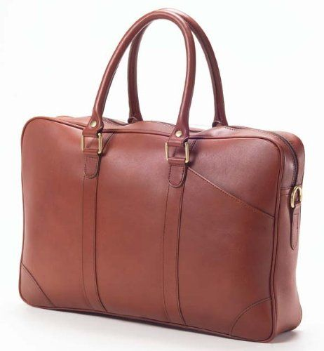 56eb2ff4e6f6 Clava SF4 Slim Top Handle Briefcase Bridle Cognac * You can find out ...