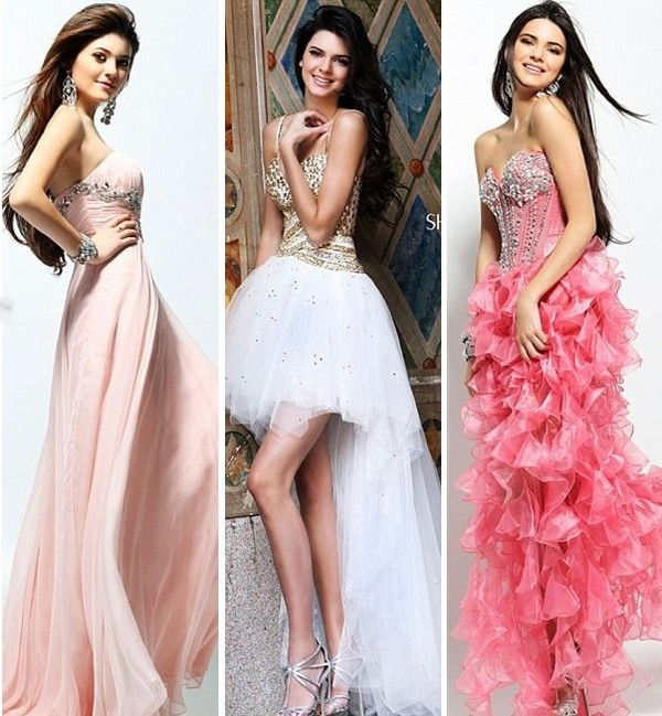 Kendall Kylie Jenner Prom Dresses Kendall Jenner Kendall