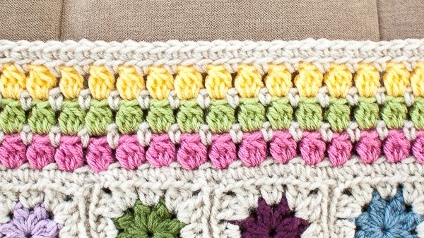 Cluster Burst Afghan Crochet Edging Pattern Pinterest Afghan