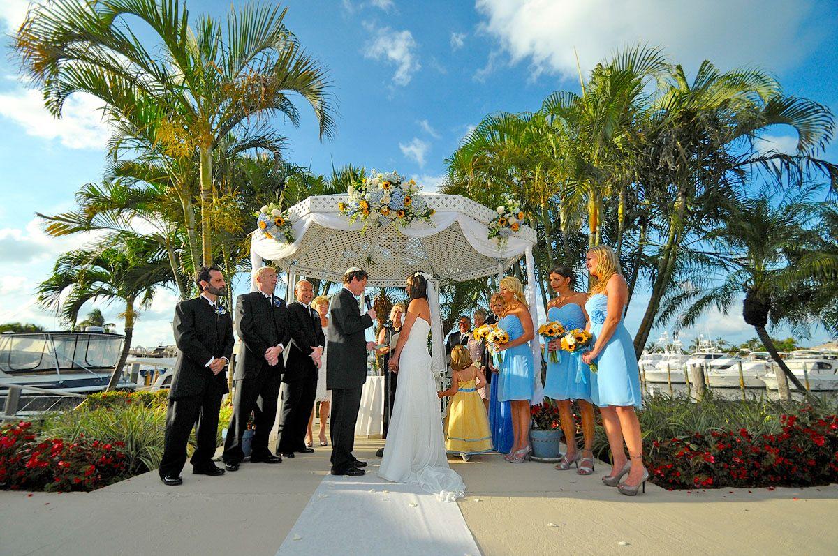 Lighthouse Point Yacht And Racquet Club Wedding Ceremony Dana