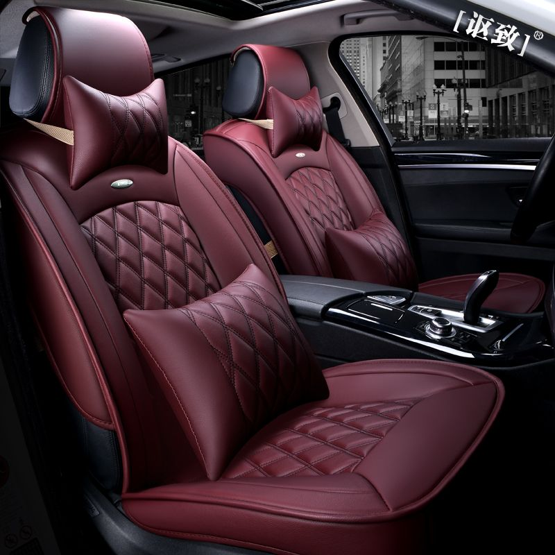 Car Seat Covers Leather Cushion Set For FORD Focus Mondeo ROVER 75 MG TF 3
