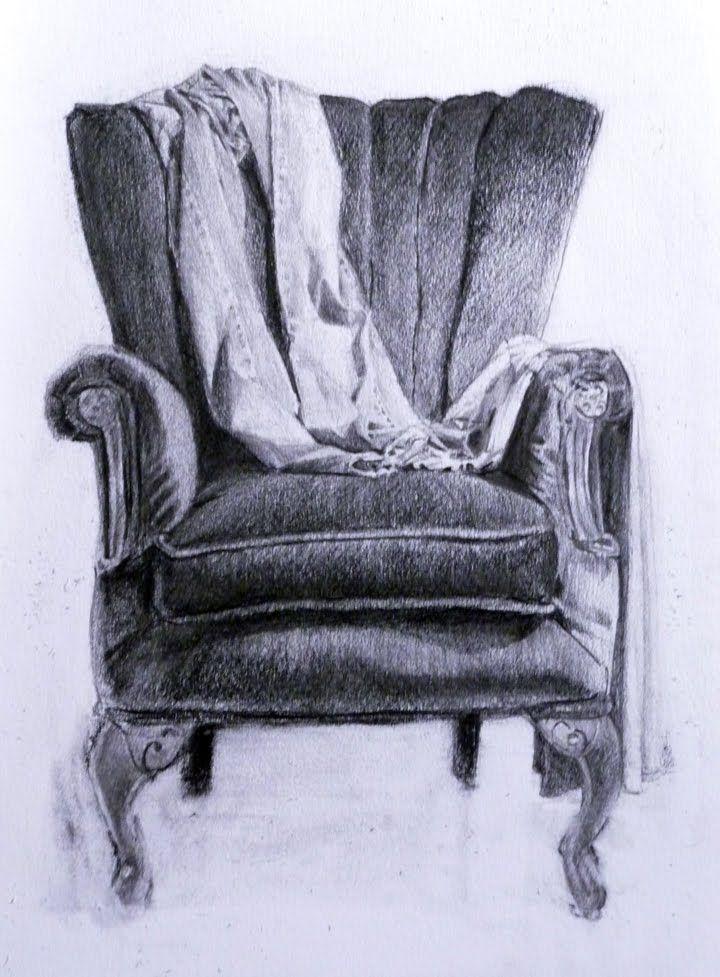 Recorded Eyesight Art Chair Art Drawings Drawings