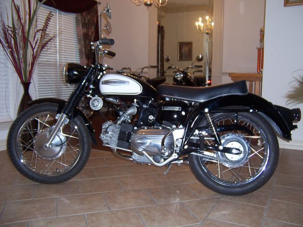 1966 Harley Sprint H for sale. It has just recently been ...