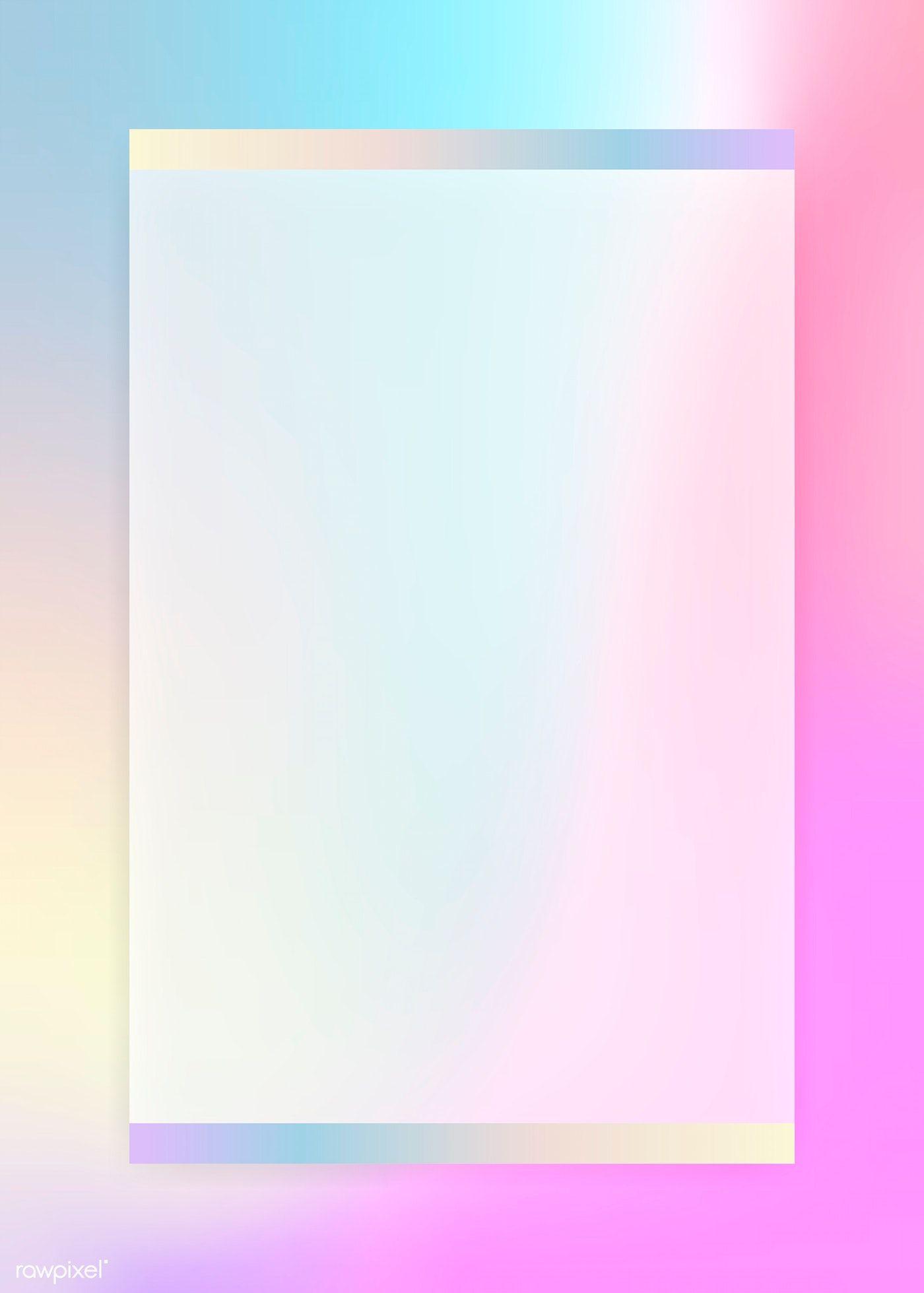 Download Premium Illustration Of Blank Colorful Card Design Vector