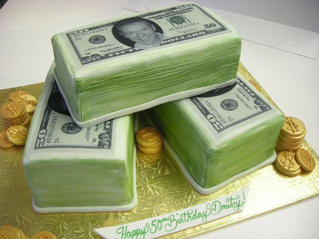 Money Birthday Cake  Birthday Cakes Cake And Birthdays - Money birthday cake images
