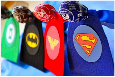 Awesome superhero valentines.