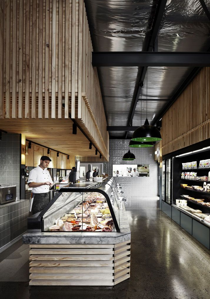 Butchers Are All The Hype Meat Store Grocery Store Design
