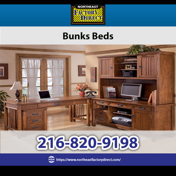 Shop Bunk Beds at Northeast Factory Direct for an amazing