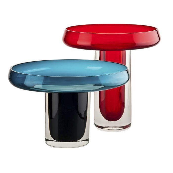 vase contemporain en verre souffl altitude by. Black Bedroom Furniture Sets. Home Design Ideas