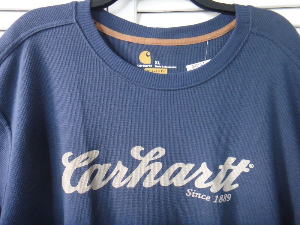 Carhartt hunting co mens long sleeve shirt relaxed fit
