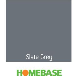 Homebase Home Of Colour Slate Grey Matt Emulsion Paint 2 5l From Co Uk