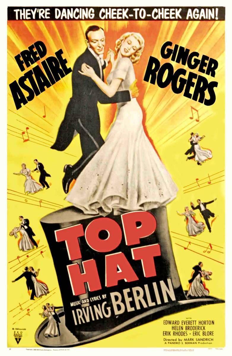 Top Hat (dir. Mark Sandrich, 1935) Vintage movies