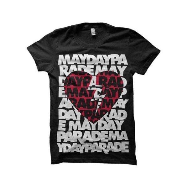 221c183a81a31b MAYDAY PARADE - Broken Heart - Black Women s   Girls T-shirt (Girlie ...