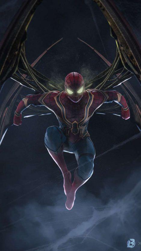 Batman New Suit iPhone Wallpaper Vingadores, Super herói
